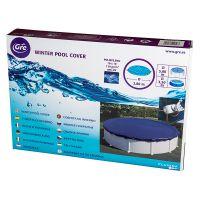 Bâche hiver pour piscines hors-sol rondes Ø 380 cm. Gre CIPR301
