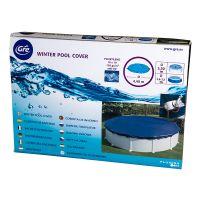 Bâche hivier pour piscines hors-sol ronde Ø 440 cm. Gre CIPR351