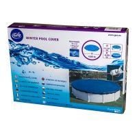 Bâche hiver pour piscines hors-sol rondes Ø 480 cm. Gre CIPR401