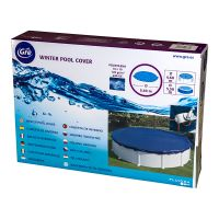 Bâche hiver pour piscines hors-sol rondes Ø 540 cm. Gre CIPR451