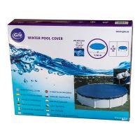 Bâche hiver pour piscines hors-sol rondes Ø 730 cm. Gre CIPR651