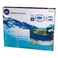 Bâche hiver pour piscines hors-sol ovales 680x460 cm. Gre CIPROV611