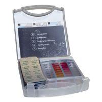 Estuche analizador cloro libre, total y pH en pastillas