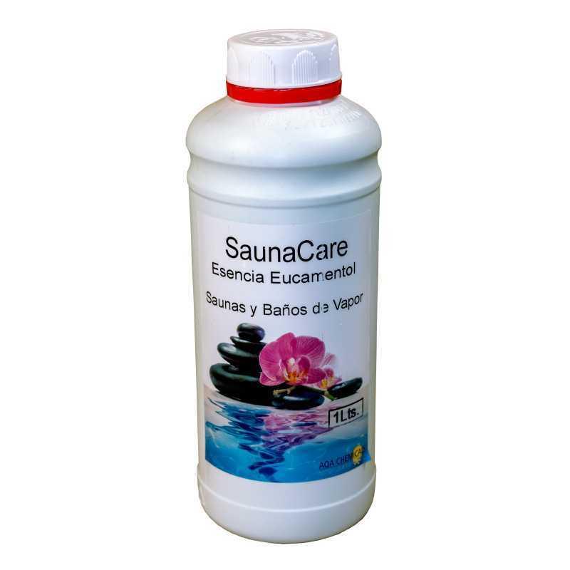 Esencia para saunas de Eucamentol. 1 L. SaunaCare AQA. 19056.