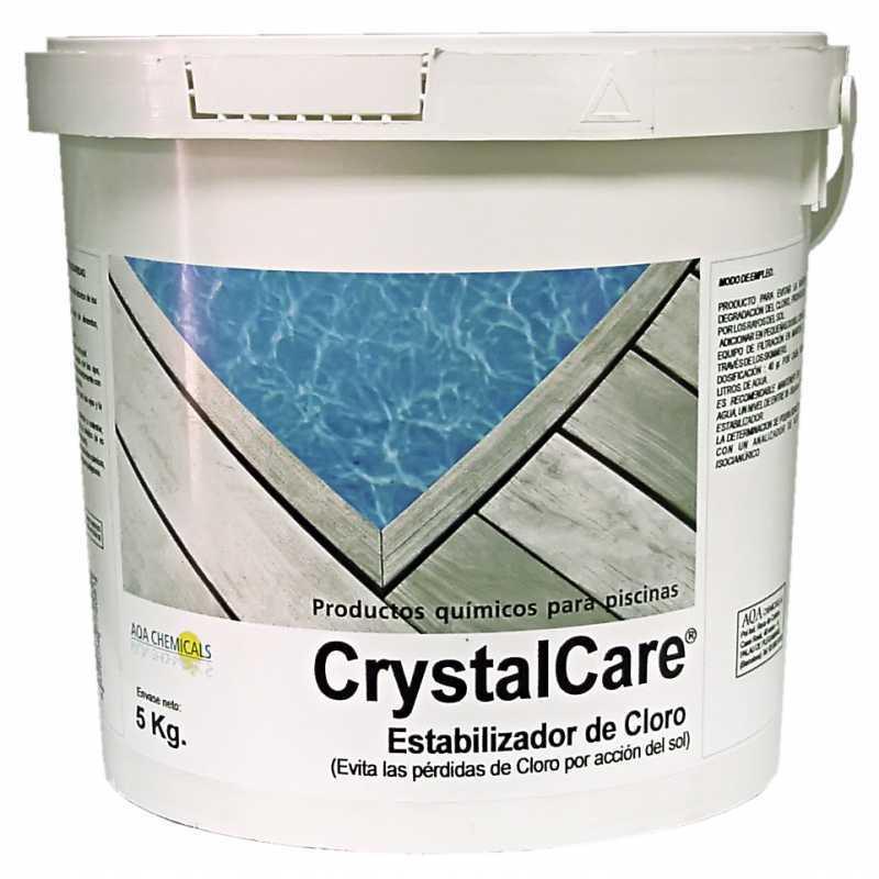 Stabilisateur chlore 2 kgs. Crystalcare Aqa Quemicals