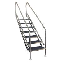 Escalera facil acceso land flexinox