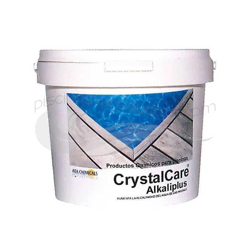Augmentateur d'alcalinité 25 kgs. Alkaliplus CrystalCare