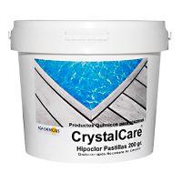 Hypochlorite de calcium en galets 25 kgs. Crystalcare