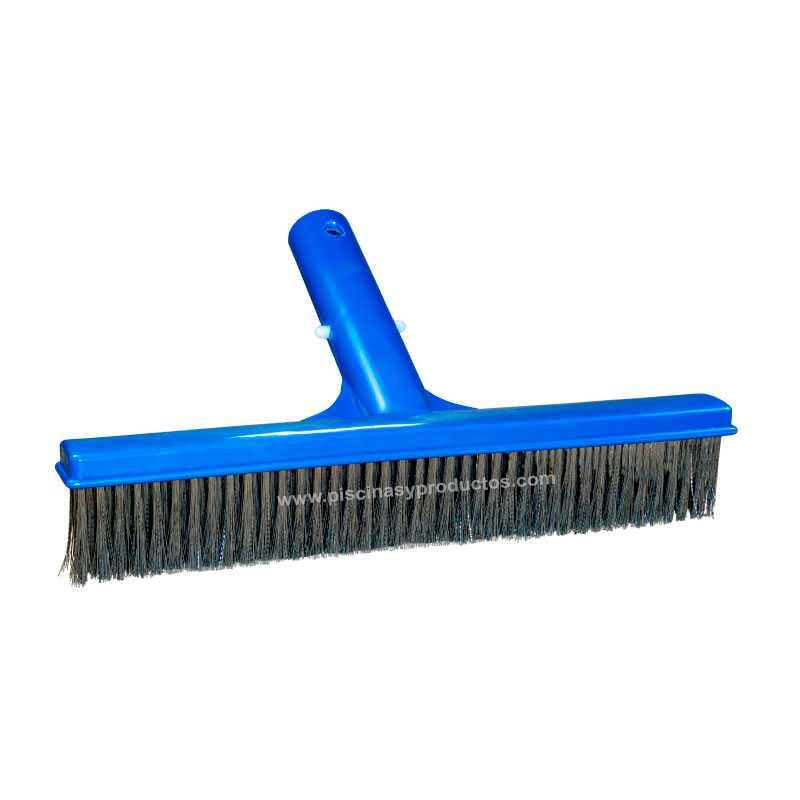 Cepillo recto de acero inoxidable de 25 cms