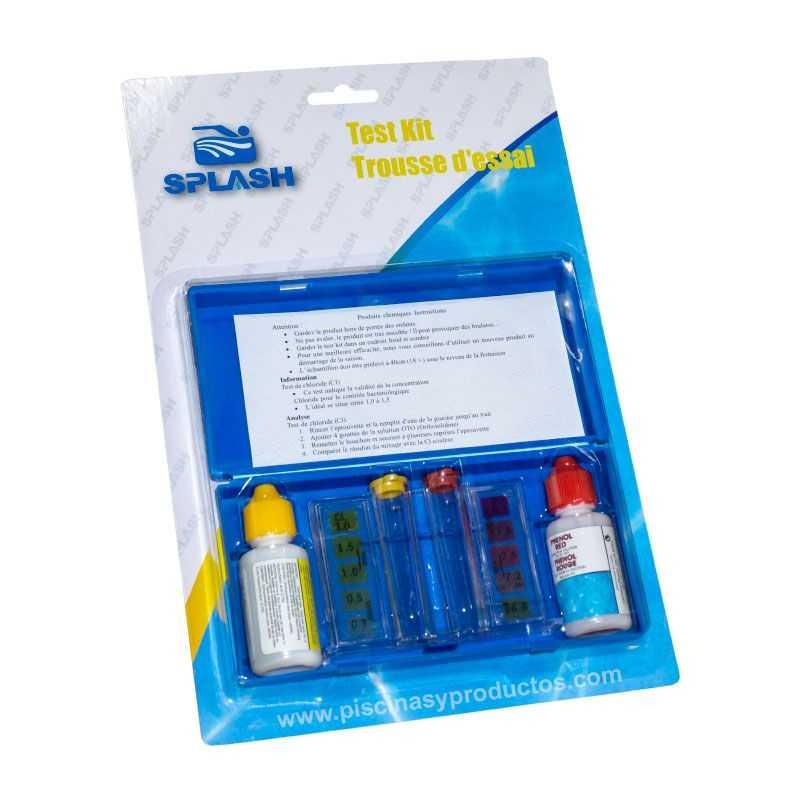 Trousse test chlore et pH