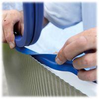 Liner bleu pour piscine hors-sol ovale 7300x3750x1200 mm. Gre