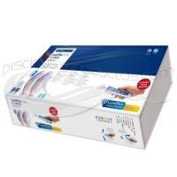 Kit 2 proyectores Fijación STD emb.ABS bl. + 1 LumiPlus