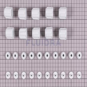 Connexion PVC B-C 4/6 MM (10 un.) pour pompe doseuse Optima avec analyseur